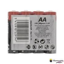 Batterij Alkaline AA- shrink pack 4 stuks (HQ)