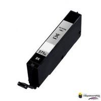 Huismerk inktpatroonshop inktcartridge voor de Canon CLI-571BK XL zwart (huismerk)