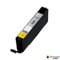 Huismerk inktpatroonshop inktcartridge voor de Canon CLI-571Y XL yellow (huismerk)