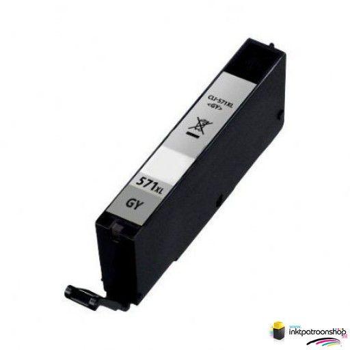 inktcartridge voor de Canon CLI-571GY XL grijs (huismerk)