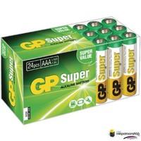 Batterij Super Alkaline box 24 AAA (GP)