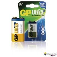 Batterij alkaline LR22 9 V Ultra Plus 1-blister (GP)