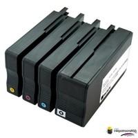Huismerk inktpatroonshop Inktcartridge HP nr.950XL + 951XL (C2P43AE) set (huismerk) Bestel de 2e set voor de helft van de prijs !!