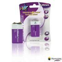 9 V lithiumbatterij 1-blister (HQ)