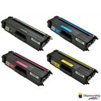 Huismerk inktpatroonshop Toner Brother Voordeel set TN-326 1 x zwart + 3 x kleur (huismerk)