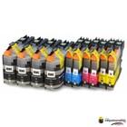 Huismerk inktpatroonshop Inktcartridges Brother Voordeelpakket LC-123 10 stuks (huismerk)