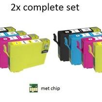 Inktcartridges Epson Voordeel pakket T-1291 10 stuks (huismerk)