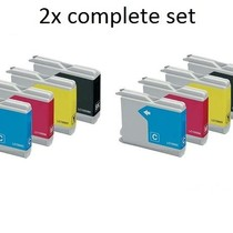inktcartridges Brother Voordeelpakket LC-970 - LC-1000 10 stuks (huismerk )