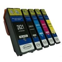 Inktcartridges Epson T-2621 + T-2634 (26XL) set (huismerk)