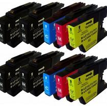 Inktcartridges Brother Voordeelpakket LC-1220 - LC-1240 10 stuks (huismerk)