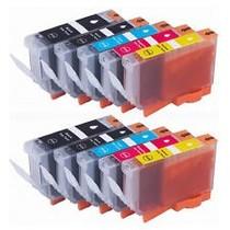 inktcartridges Canon Voordeelpakket BCI-3/6 10 stuks (huismerk)