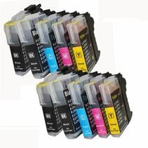 inktcartridges Brother Voordeelpakket LC-985 10 stuks (huismerk)