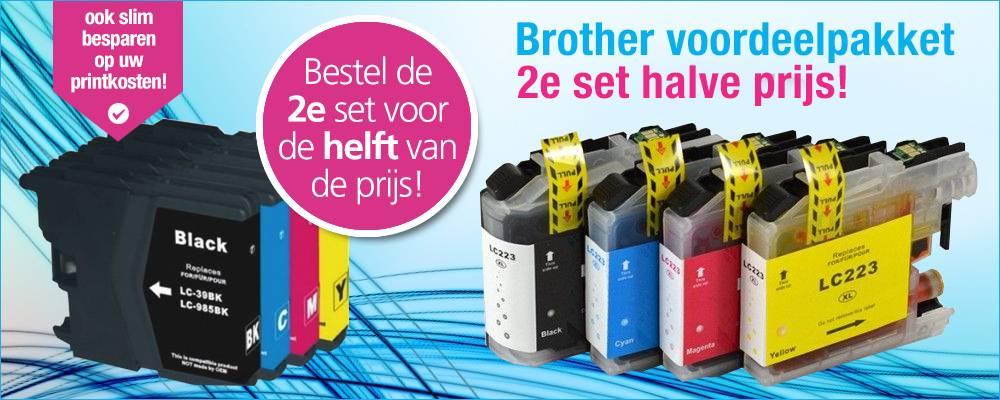 GOEDKOOPSTE Brother Compatible inktcartridges