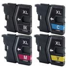 Inktcartridges Brother LC-985 set (huismerk) Bestel de 2e set met kortingvoor de helft van de prijs !!