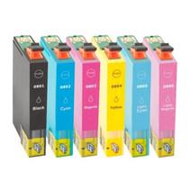 Inktcartridges Epson T-791+ T-796 set (huismerk) Tip bestel de 2e set met korting!