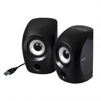 Gigabyte Gigabyte S3000 Digital USB Speakers [USB3.0 AUX-in sound-card intergrated Black]