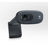 Logitech Logitech C270 HD webcam, black