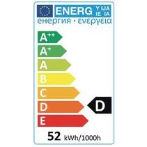 Halogeenlamp E27 R63 53 W 620 lm 2800 K