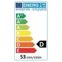 Halogeenlamp B22 A55 53 W 850 lm 2800 K