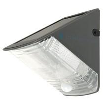 Solar Wandlamp 1 LED Zwart