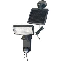 Solar Wandlamp 12 LED Zwart