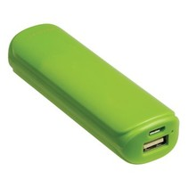 Draagbare Powerbank 2200 mAh USB Groen