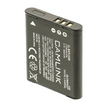 Oplaadbare Lithium-Ion Camera Accu 3.7 V 840 mAh