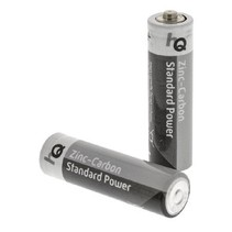 Zink-Koolstof Batterij AA 1.5 V 4-Blister