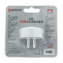 Reisadapter USA USB Ongeaard