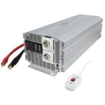 Gemodificeerde Sinus Omvormer 24 VDC - AC 230 V 4000 W F (CEE 7/3)