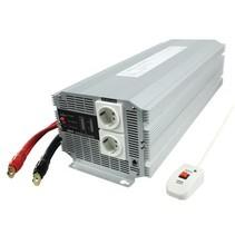 Gemodificeerde Sinus Omvormer 12 VDC - AC 230 V 4000 W F (CEE 7/3)