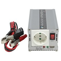 Gemodificeerde Sinus Omvormer 24 VDC - AC 230 V 300 W F (CEE 7/3) / USB