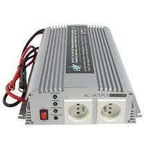 Gemodificeerde Sinus Omvormer 24 VDC - AC 230 V 1000 W F (CEE 7/3)