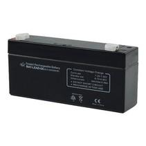 Oplaadbare Loodzuur Accu 6 V 3200 mAh 134 mm x 35 mm x 61 mm