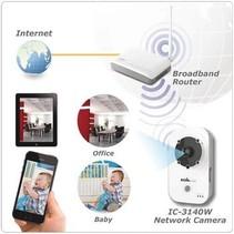 HD IP-Camera Binnen 1280x720 Wit/Zwart