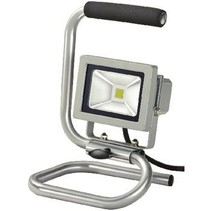 Mobiele LED Floodlight 10 W 700 lm Grijs