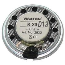 "Small speaker 2.3 cm (0.9"") 8 Ω 0.5 W"