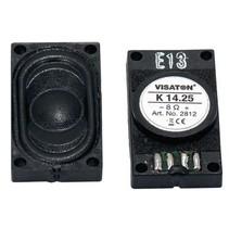 "Small loudspeaker 1.4 x 25 cm (0.5"" x 1"") 8 Ω 1.5 W"