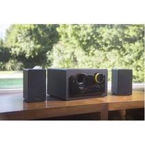 Grub Speaker 2.1 Bedraad 48 W Zwart/Geel