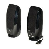 Speaker 2.0 Bedraad 3.5 mm 1 W Zwart