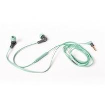 Lace Headset In-Ear 3.5 mm Ingebouwde Microfoon 1.2 m Peppermint