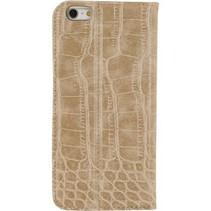 Smartphone Premium Magnet Book Case Apple iPhone 6 Plus / 6s Plus Bruin