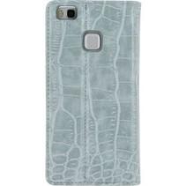 Smartphone Premium Book Case Huawei P9 Lite Blauw