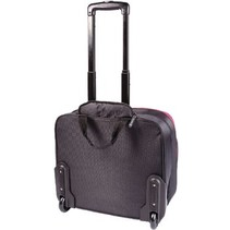 "Laptop Businesstrolley 15-16"" Polyester Zwart/Roze"