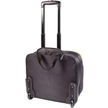 "Laptop Businesstrolley 15-16"" Polyester Zwart/Groen"