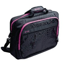 """Laptop Tas 13-14"""" Polyester Zwart/Roze"""