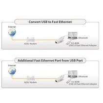 Netwerk USB-Adapter 10/100 Mbit