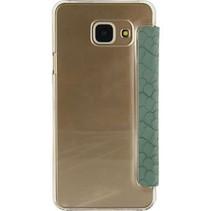 Smartphone Slim Booklet Samsung Galaxy A3 2016 Groen