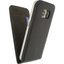 Smartphone Premium Magnet Flip Case Samsung Galaxy S7 Zwart
