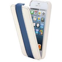 Tablet Flip-case Apple iPhone 5s Wit/Blauw